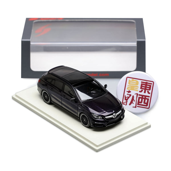 SPARK 1:43 Mercedes Benz AMG CLA 45 Shooting Brake 2016 Black Resin Model Car S4980