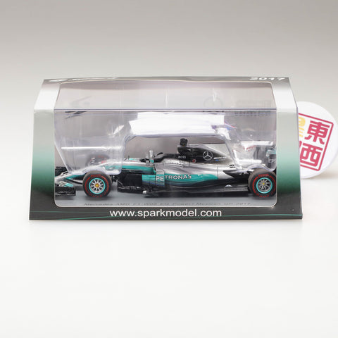SPARK 1:43 Mercedes AMG Petronas F1 Team Mercedes F1 W08 EQ Power #44 Mexican GP 2017 S5054