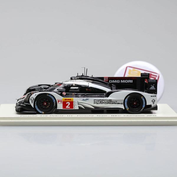 SPARK 1:43 Porsche 919 Hybrid 2.0L Turbo #2 Winner 6H Bahrain 2016 Resin Model Car S5148