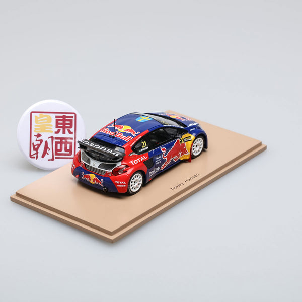 SPARK 1:43 Peugeot 208 Wrx Red Bull #21 Winner World Rx Of France 2016 Resin Model Car S5198