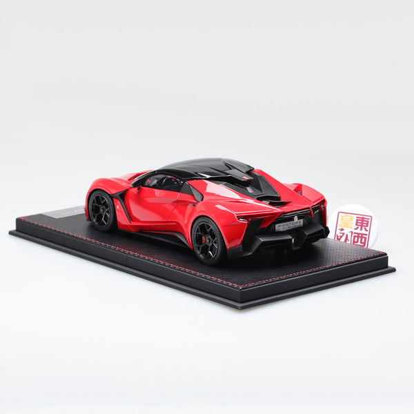 Frontiart SophiArt 1:18 W Motor Fenyr Supersport after Lykan Red Resin Model Car SA003-06