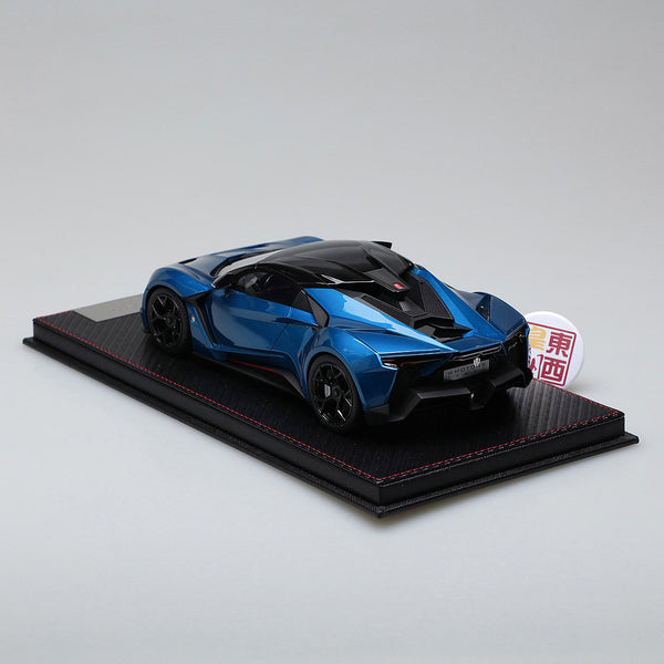 Frontiart SophiArt 1:18 W Motor Fenyr Supersport after Lykan Blue Resin Model Car SA003-11