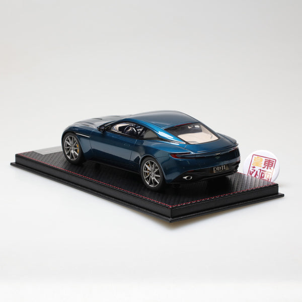 Frontiart Sophiart 1:18 Aston Martin DB11 Blue Resin Model Car SA005-44
