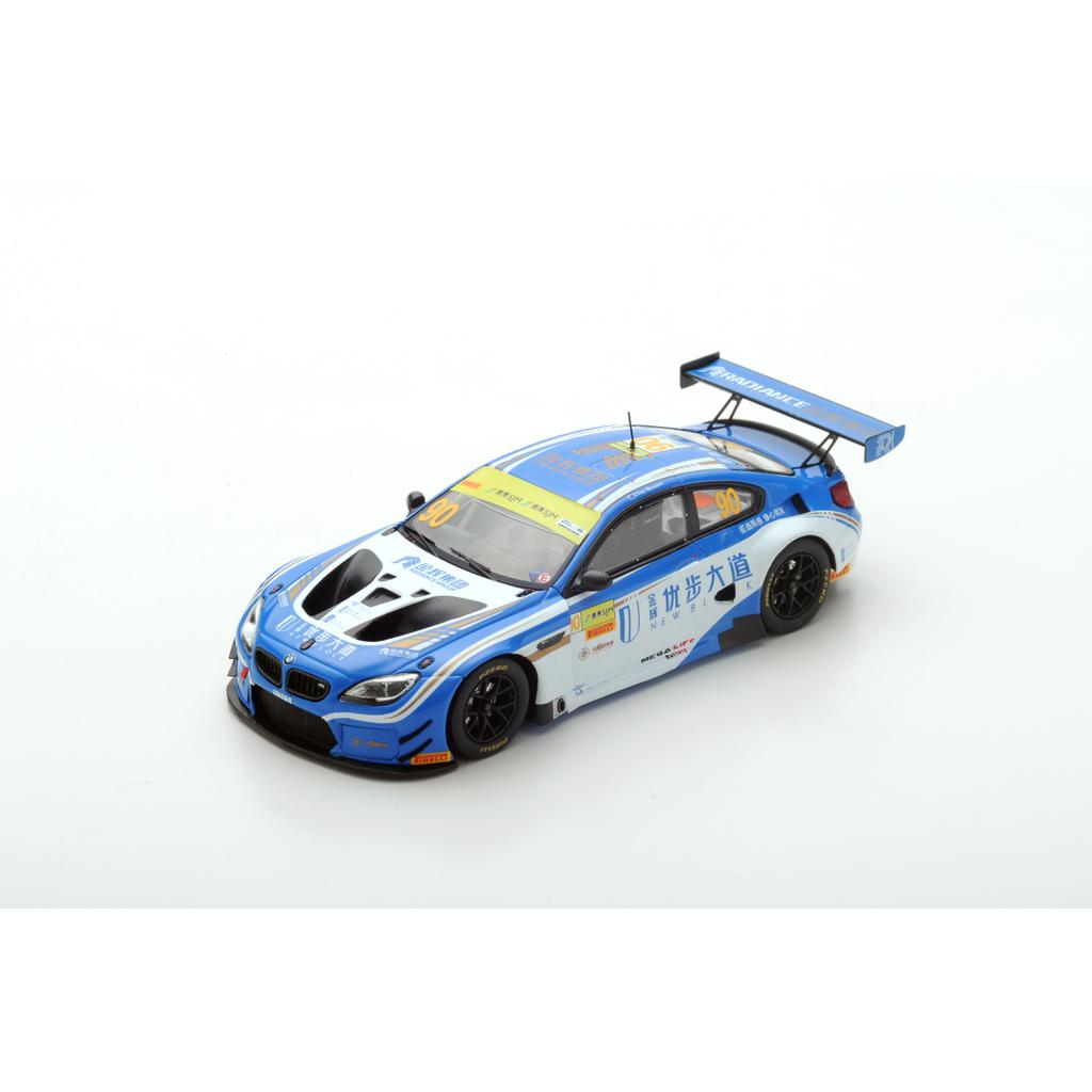 SPARK 1:43 BMW M6 GT3 #90 - FIST Team AAI FIA GT World Cup Macau 2017 Chaz Mostert Limited 300 SA144