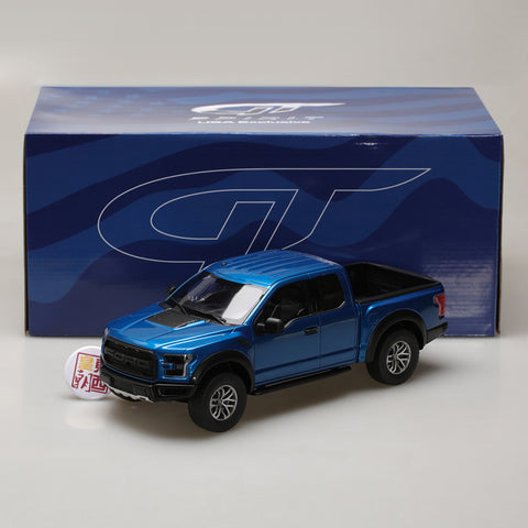 GT Spirit 1:18 2017 Ford F-150 Raptor Lightning Blue US009