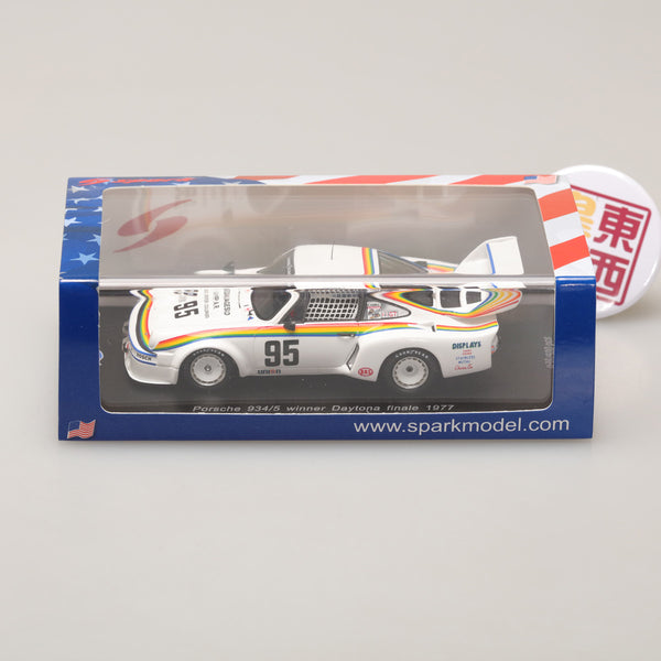 SPARK 1:43 PORSCHE 934/5 #95 Winner Daytona Finale 250 Miles 1977 - Hurley Haywood -(500 copies) US023