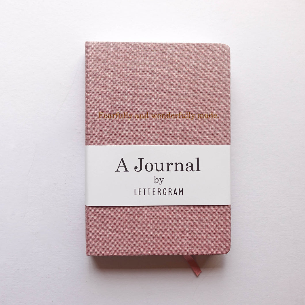 Lettergram Journal Rose
