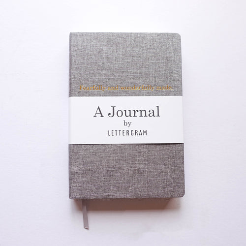 Lettergram Journal Grey