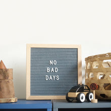 Gray letter board (by www.amommabroad.com)