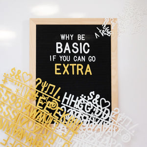 CLEARANCE SALE! Lettergram 16x20 Bundle