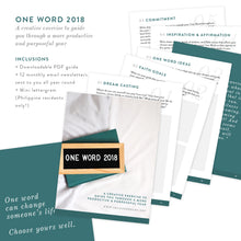 One Word 2018