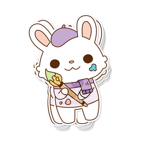 Bun Gogh Sticker