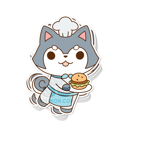 Bone Appetit Sticker