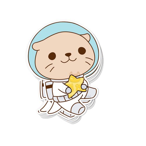 Otterspace Sticker