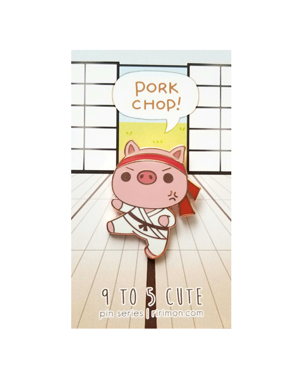 9 TO 5 CUTE: PORK CHOP