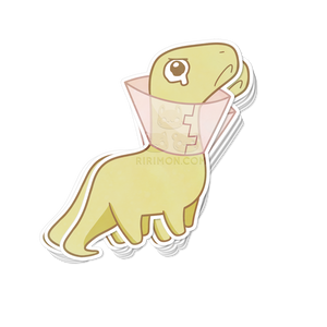 DinoSores Brontosaurus Sticker
