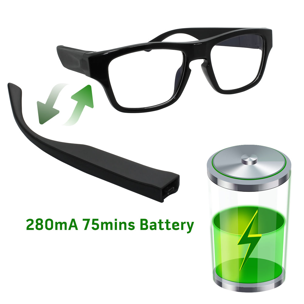 Covert Glasses Camera