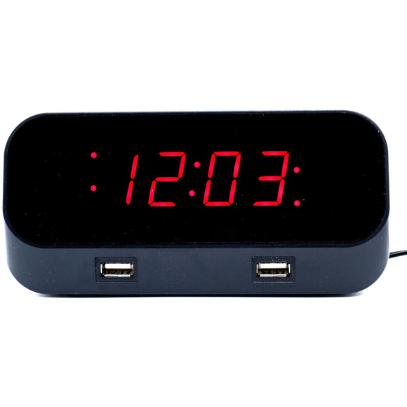 WiFi Hidden Camera Alarm Clock