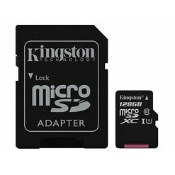 Kingston 128GB microSDHC - Class 10