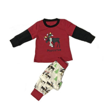 Family Christmas Pajamas Father Son Mother Daughter Matching Outfits Sleepwear Pajamas