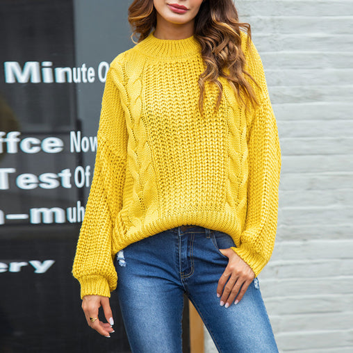 2018 Back Cut Out Autumn Sweaters Long Sleeve Basic Jumpers