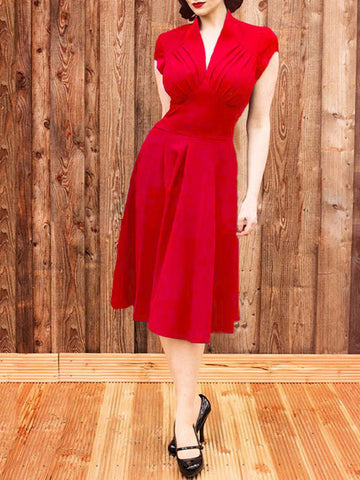Audrey Hepburn Vintage Rockabilly 50s Swing Party Dress