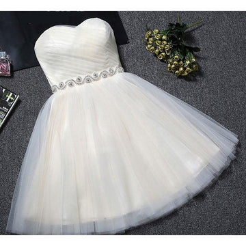 Short Homecoming Tube Diamond Evening Prom Graduation Dress