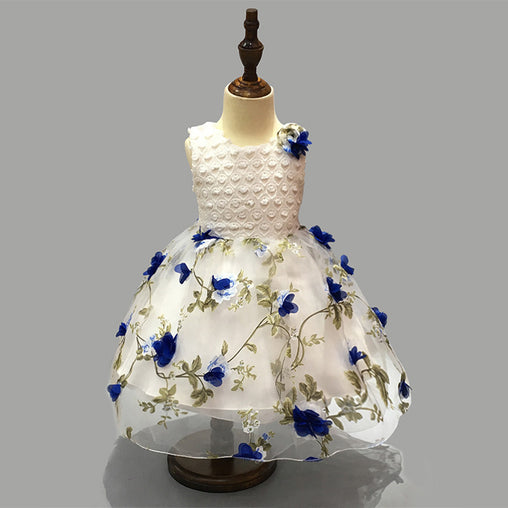 Fashion Flower Girl Dresses Gifts Pageant Wear Wedding Party Formal Dress