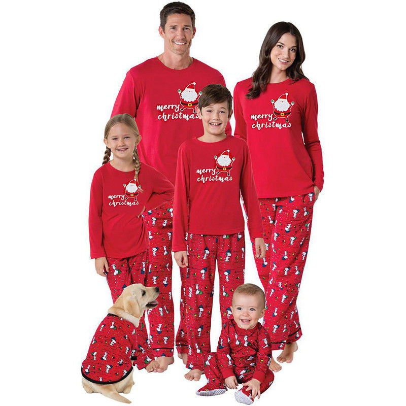 Family Match Christmas Pajamas Set 2017 PJS Women Baby Kids Sleepwear  Family Matching 590c319ed