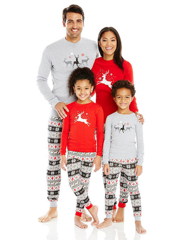 2017 Christmas Pajamas Family Matching Mother Kids Father Son Mon Baby New Year Pajama Sleepwear set