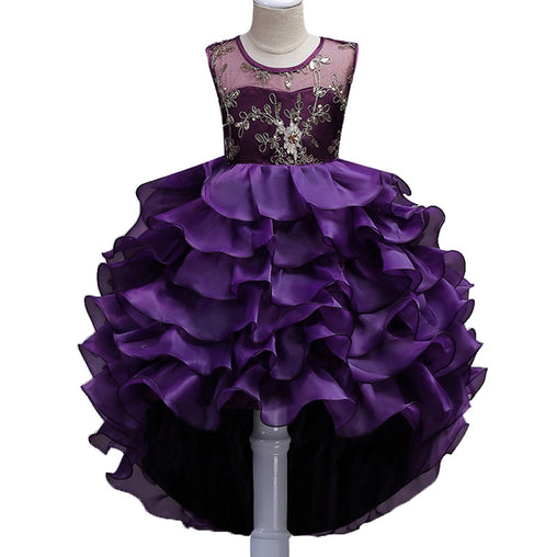 Summer Formal Flower Girl Dress Christmas Prom Gown Dresses