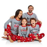 Family Matching Pyjamas Set Xmas Hot Christmas Adult Women Men Kid Sleepwear Nightwear