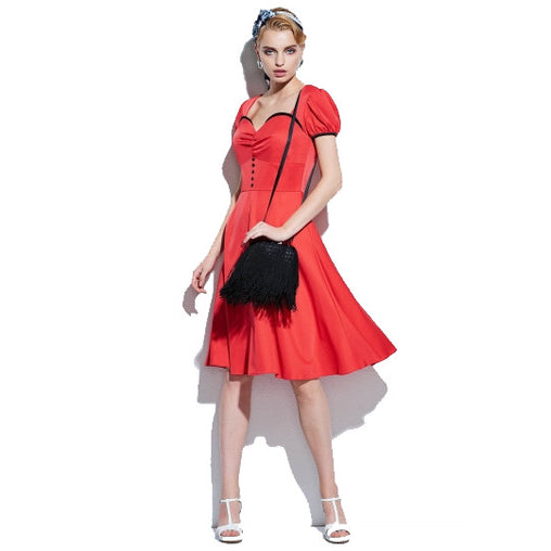 1950's Rockabilly Style Women's Vintage New Years Party Dress
