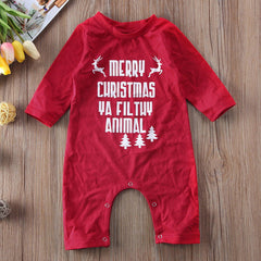 Family Matching Christmas Deer Santa BFF Letter Printed Pajamas PJs Sets Sleepwear Sets