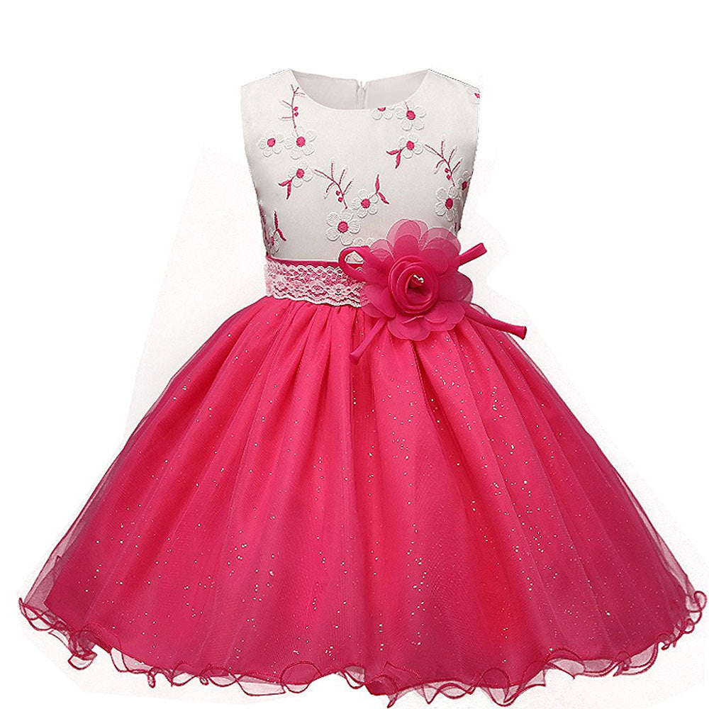 6ce00ca93 Flower Girl Dresses White Red Simple Evening Wedding Lace Tutu Party ...