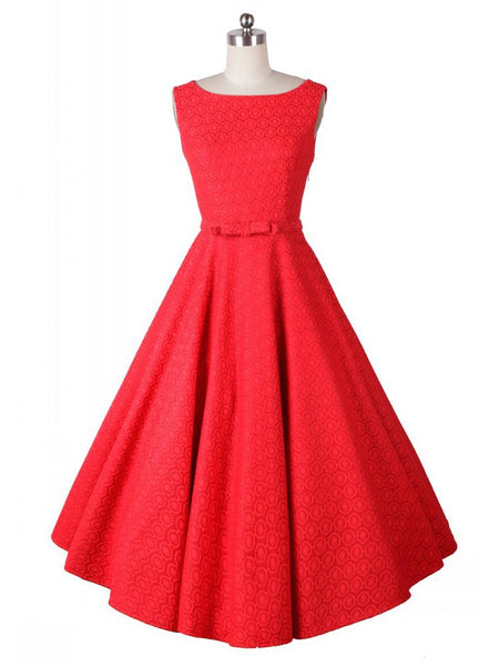 Vintage 50s Style Audrey Hepburn Rockabilly Swing Prom Dresses