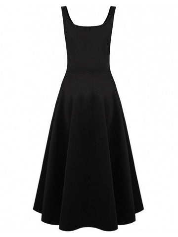 Retro Audrey Hepburn Style Vintage Swing Evening Party Dress
