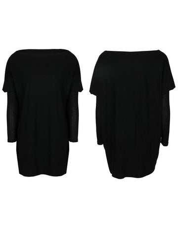 Women's Casual Long Sleeves Tops Round Neck Velvet Fabric T-shirt