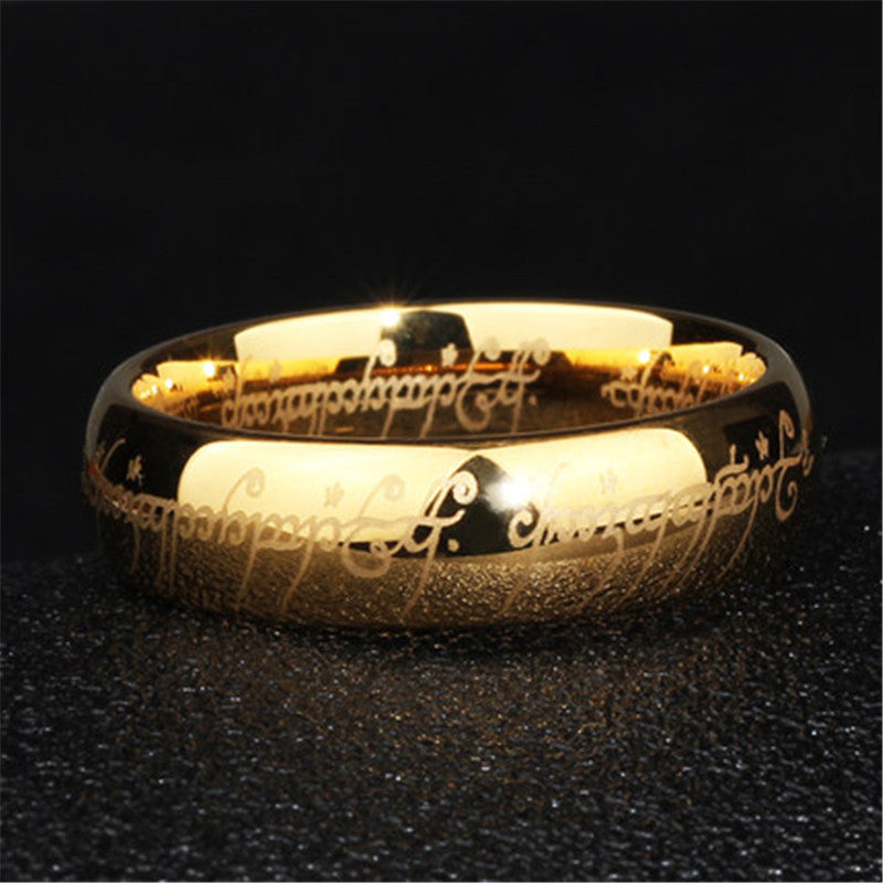Tungsten Ring - Inspired by the Lord of the Rings! & Tungsten Ring - Inspired by the Lord of the Rings! u2013 mamahome ... azcodes.com