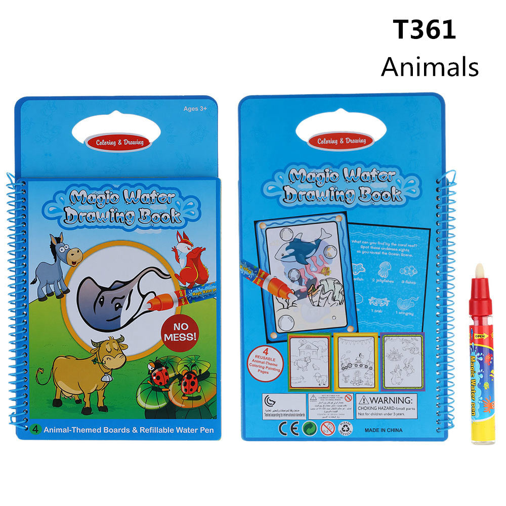 Magical Coloring Book and Doodle Pen