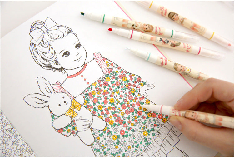Paper Doll Coloring Book – mamahome | Your Essential Store
