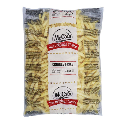 Crinkle Cut Fries [1957] McCain 5x2.5kg