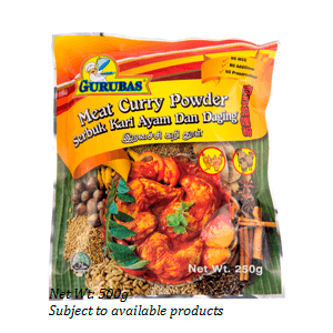 Curry Meat Powder - Raj/Gurubas 500gpkt - LimSiangHuat