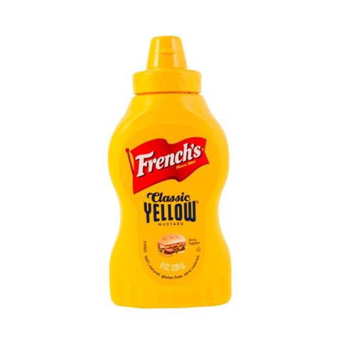 American Mustard Squeeze- Frenchs 20x8oz - LimSiangHuat
