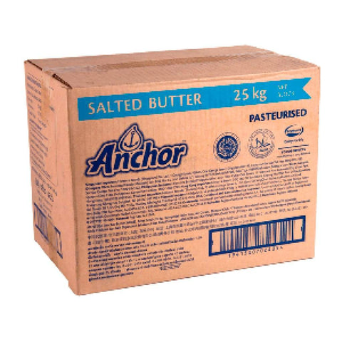Anchor Salted Butter 25kg - LimSiangHuat