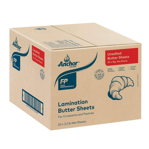 Anchor Unsalted Buttersheet 20x1kg - LimSiangHuat