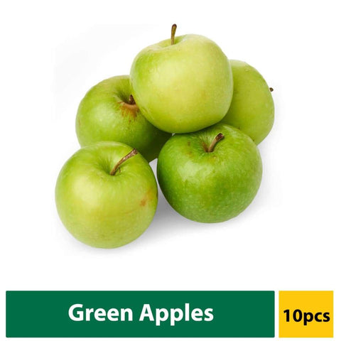 Apple Granny Smith Green (Small) 10s - LimSiangHuat