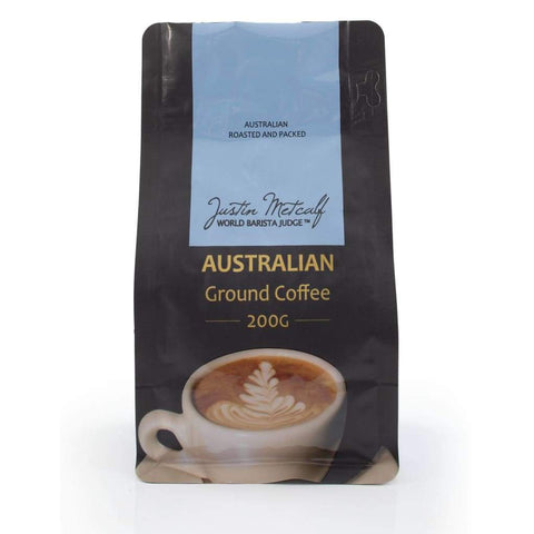 Australian Ground Coffee - Justin Metcalf 200g - LimSiangHuat