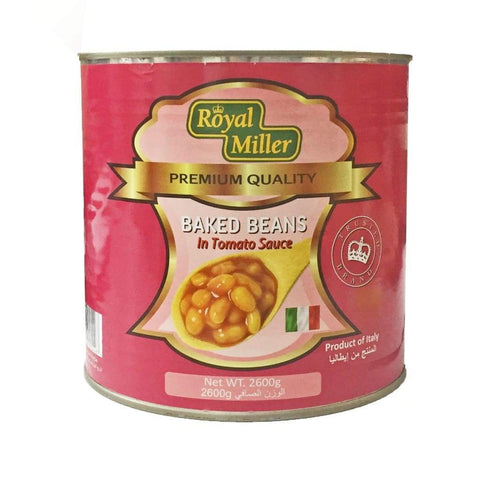 Baked Beans in Tomato Sauce Royal Miller 2.6kg - LimSiangHuat