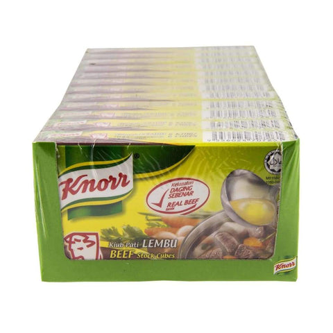 Beef Stock Cubes - Knorr 12'sx60g - LimSiangHuat